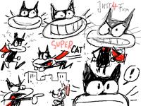 Super Cat Sketches