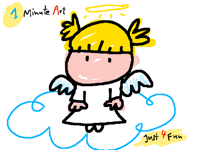 My guardian angel (1Minute Art)