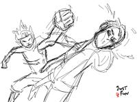 random violence (sketch contest entry)