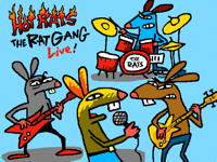 The Rat Gang live  @Xen0TheCycl0ps