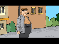 Big old man