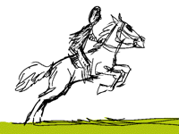 Horse Riding Animation (Sketch)