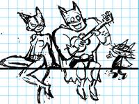 Sketch & coloring