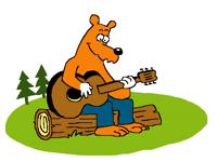 Bob the bear sings a song
