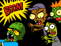 Zombie Attack ... they will come back!