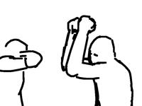 fight scene oop
