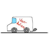 VAN-dalism