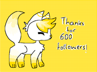 Thanks for 600 followers!