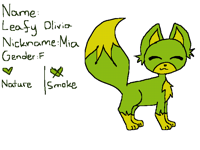 Found her a name+ Ref sheet