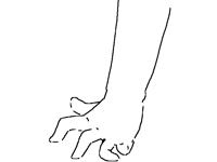 weird hand animation