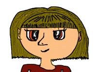 Manga girl face