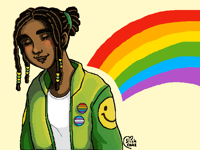 I wanna try doing multiple pride pieces this month