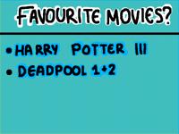 Favourite Movies?