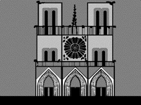 Notre Dame animated