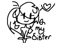 Sister going to take over tomorrow ;-;