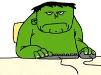 Hulk at home