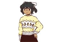 Penguin sweater..*