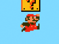 Super Mario Jump Test