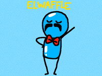 @waffleworldR : El~waffle