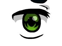 Crazy anime eye test