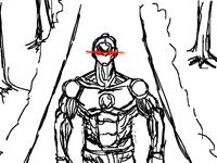 Evil Robot Walking