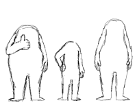 Practicing: body shapes