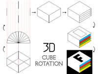 Tutorial: 3D cube rotation