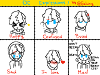 TDJ's doodle expressions