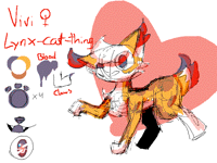 Furry OC reference sheet