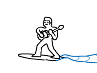 man_playing_guitar_on_surf_board.gif