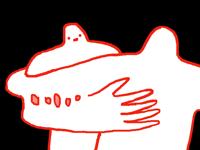 Sticky hug*