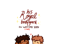 writing about the royal gays...
