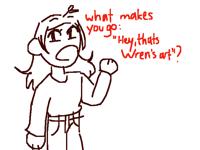 "whats my ""art trademark""?"